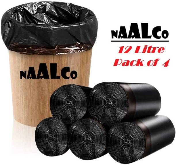 NAALCO 12 Ltr Roll 4 Small 12 L: L Garbage Bag