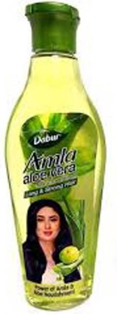 Dabur AMLA ALOVERA NON STICKY HAIR OIL Hair Oil