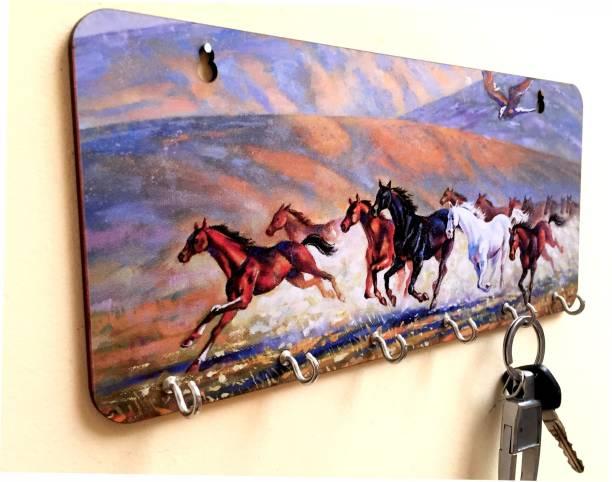 HD Artworks Wood Key Holder