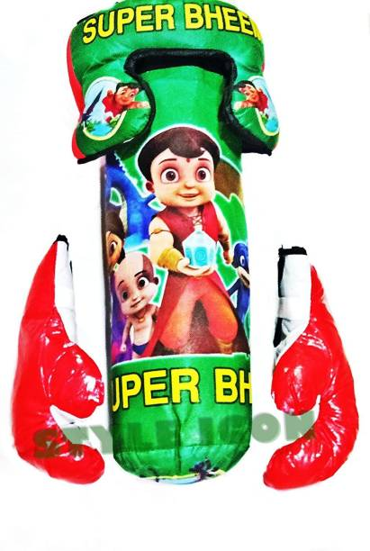 Kmc kidoz Boxing Kit s Bheem Toy Boxing Set for Kids, Junior (3 to 9 Years) Boxing Kit