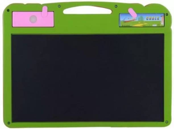 CRAZYGOL Small Drawing Magic Slate & Writing Board 2 In 1 for kids(Green,Pink)