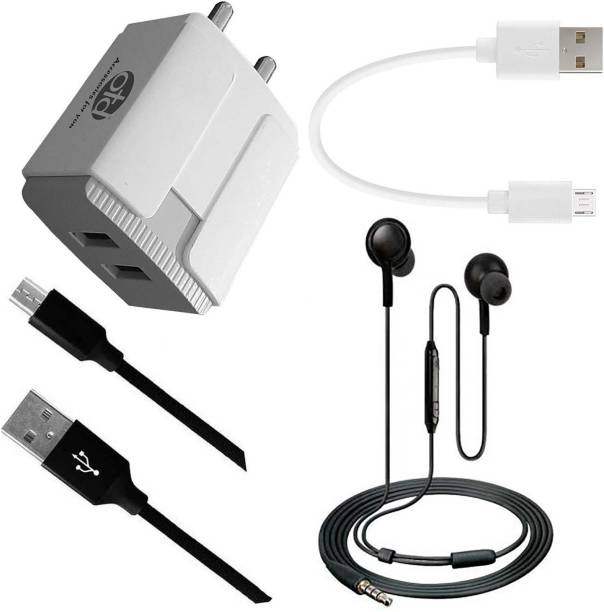 OTD Wall Charger Accessory Combo for Alcatel 5V, Alcatel Idol 4, Alcatel OneTouch IDOL Mini 6012D, Alcatel POP C7