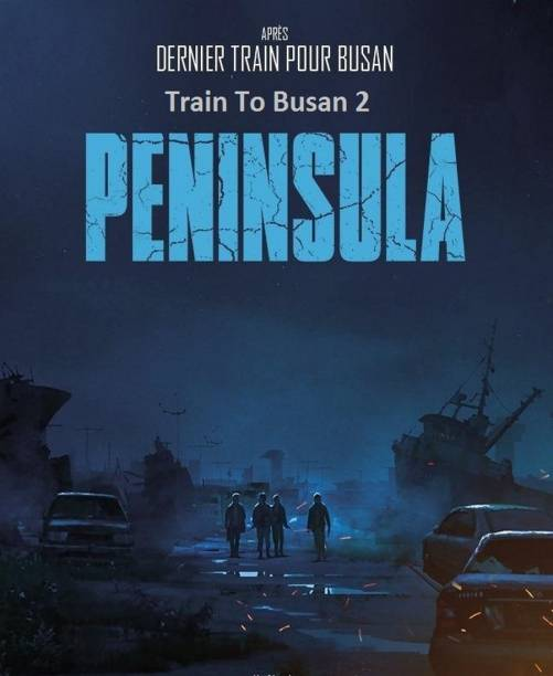 TRAIN TO BUSAN PRESENTS: PENINSULA (2020) in Hindi clear HD print clear voice (it's durn DATA DVD play only in computer or laptop) it's not original without poster