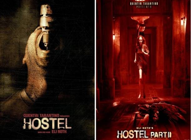 Hostel & Hostel: Part II (2 MOVIES) Dual Audio Hindi and English clear HD print clear voice (it's durn DATA DVD play only in computer or laptop) it not original without poster