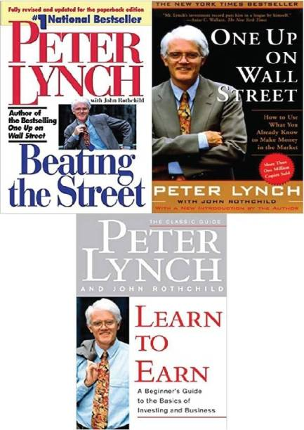 Combo Of Peter Lynch Books : Beating The Street, One Up On Wall Street And Learn To Earn