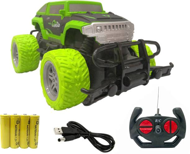 Toyshack Big and Mean 1:20 Scale Modified Off-Road Hummer RC Car/Monster Truck