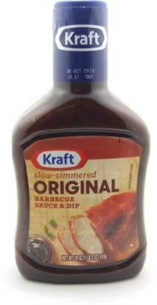 KRAFT Original Sauce Barbecue Sauce & Dip, 510 g Sauce