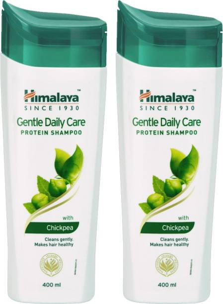 HIMALAYA Gentle Daily Care Protein Shampoo with Chickpea 400ml Each