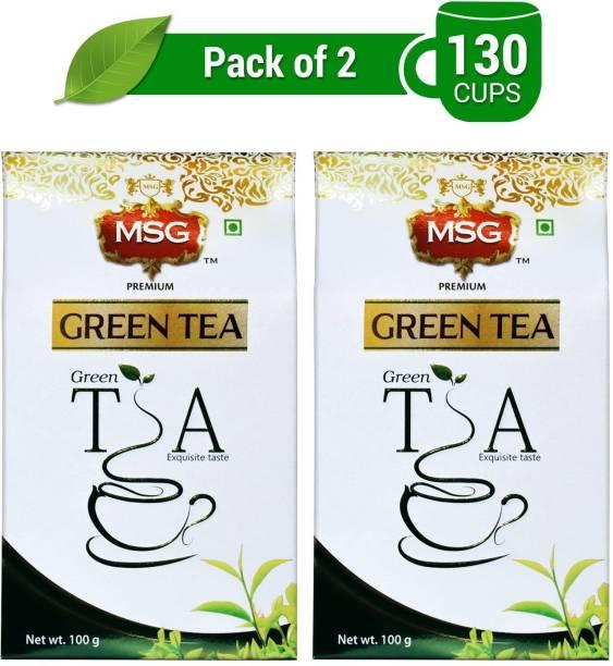 MSG Premium Loose Leaves Green Tea Box
