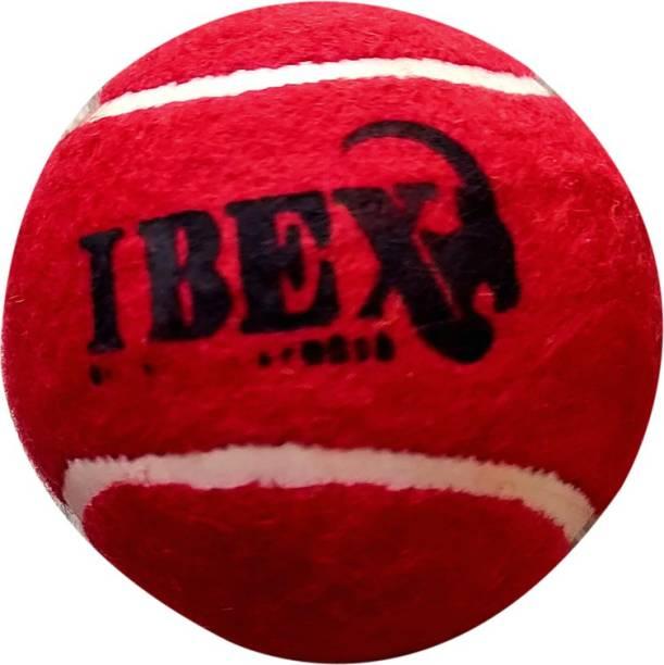 IBEX Cricket Tennis Ball Heavy (Red, Pack of 1) Tennis Ball