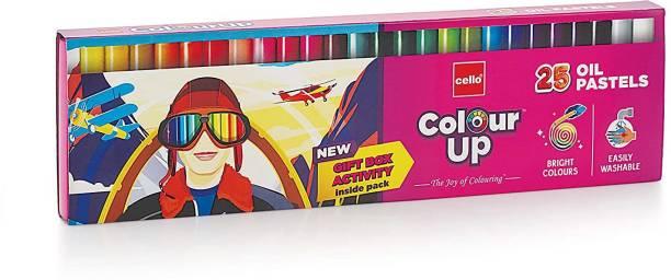 cello ColourUp Oil Pastel 25 shades