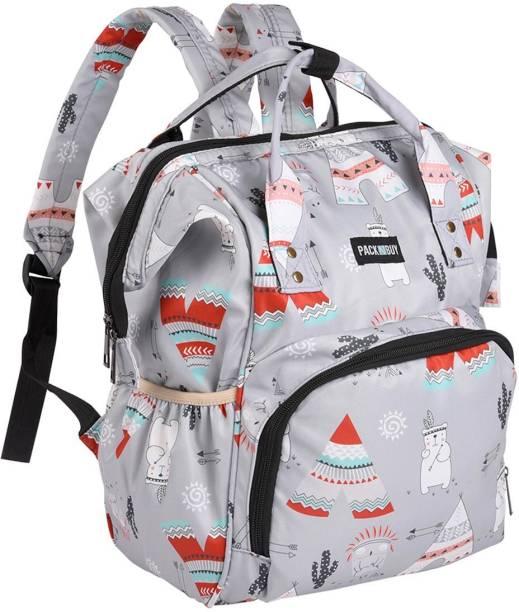 PackNBuy Mother Maternity Baby Fun Bag Diaper Bag Backpack for Travel