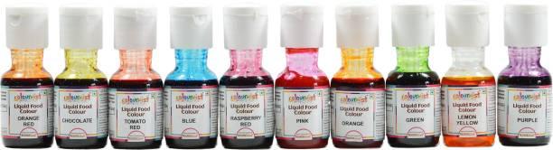 Colourmist Liquid Food Colour (Assorted) Multicolor