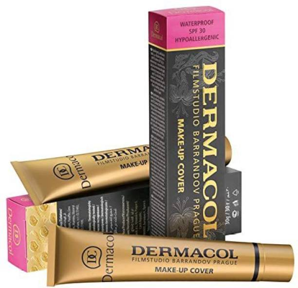 11 Days Organic DERMACOL Make-up Cover Foundation, Water-Proof SPF207  Foundation