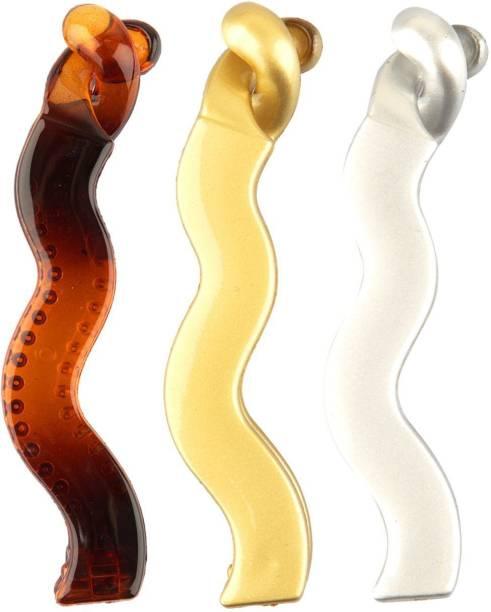 Efulgenz Hair Banana Clip Hair Accessories for Women Girls (Pack of 3) Banana Clip