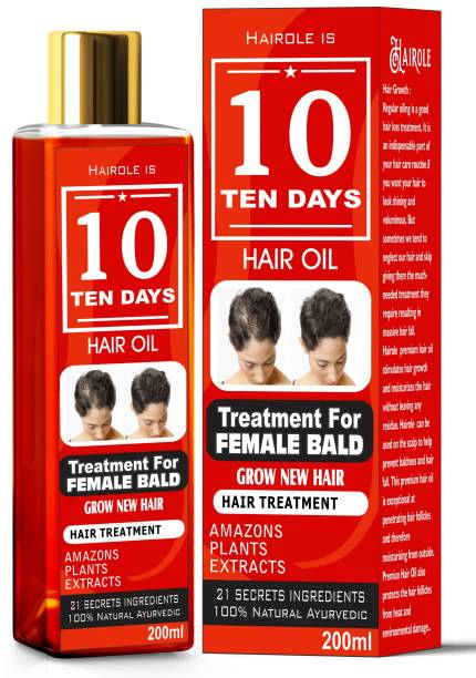 Hairole 10 Days Female Bald Treatment Hair oil
