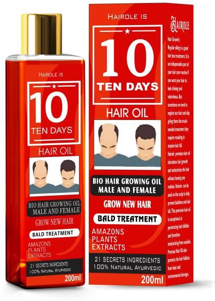 Hairole 10 Days Bald Treatment Hair oil