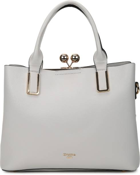 Dune London Women Grey Hand-held Bag