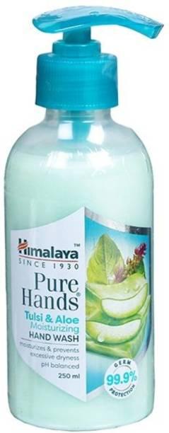 HIMALAYA PURE HANDS TULSI AND ALOE Hand Wash Pump + Refill