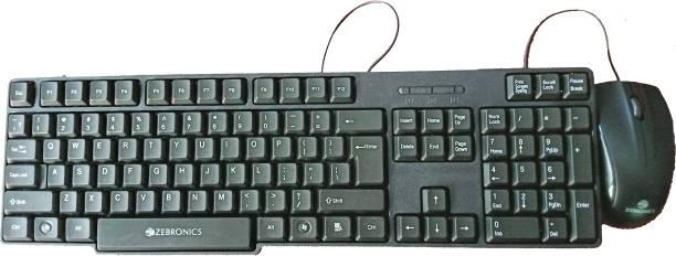 ZEBRONICS ZEB-JUDWAA 750 Wired USB Multi-device Keyboard