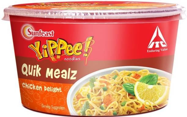 Sunfeast Yippee Quik Mealz Chicken Delight Instant Noodles Non-vegetarian