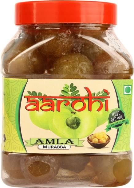 Aarohi Organic Dry Amla Murabba With Honey Amla Murabba