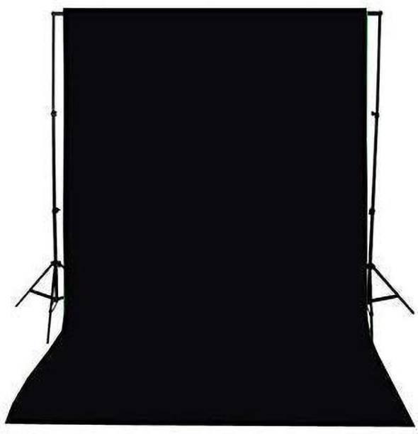 camup 8 x 12 FT. Croma Black LEKERA Backdrop Background Photo Light Studio Photography Background (Black) Reflector