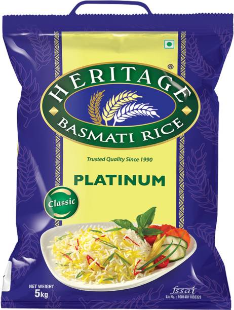 Heritage Platinum Basmati Rice (Long Grain)