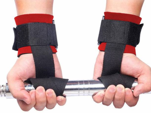 Joyfit Weightlifting Straps (Pair) for Fitness, Powerlifting & Strength Training Workouts Wrist Support