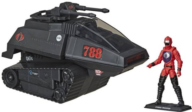 GI JOE Retro Collection Cobra H.I.S.S. Toy Vehicle with 3.75-Inch-Scale Cobra H.I.S.S. Driver Action Figure