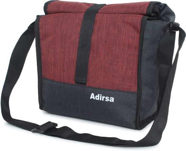 ADIRSA tiffin bag for Men, Women, Kids, School, Picnic, Work Carry Bag for Lunch Boxes /Adjustable Shoulder belt / Shoulder Sling Bag Lunch Bag