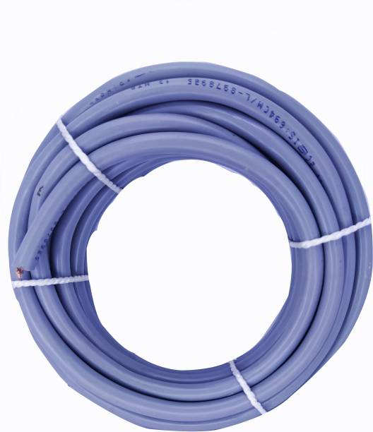 Oxcord 2 core Round Copper Wires and Cables 2.5mm 5 meter Purple 5 m Wire