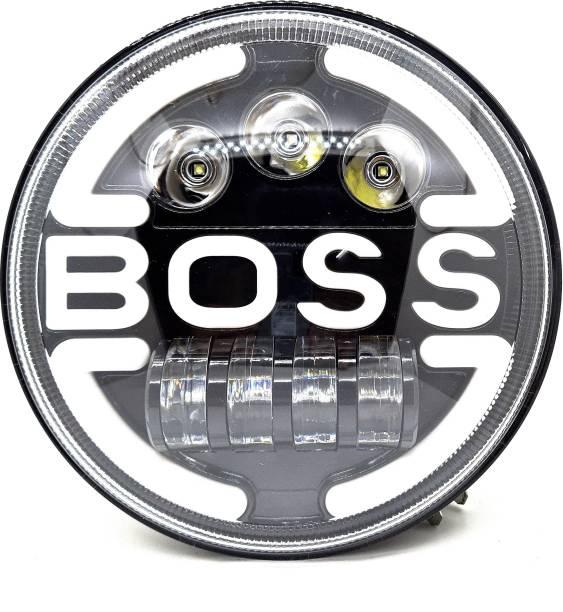 AutoPowerz LED Headlight For Royal Enfield, Mahindra Bullet 350, Bullet Electra, Classic 500, Jeep, Thar
