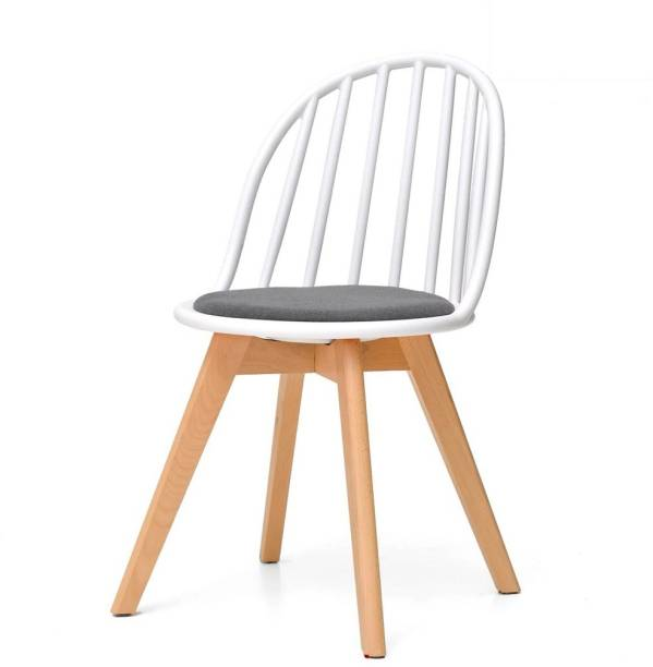 TeakBliss Engineered Wood Living Room Chair