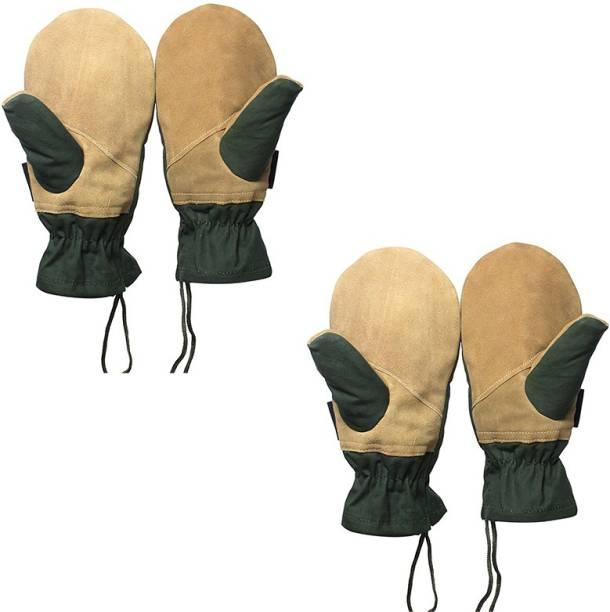 Rocksport Rappelling Mitten (Pack of 2) Climbing Gloves