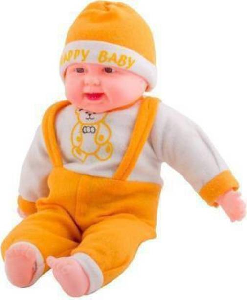 MINOR Musical Laughing Baby Boy Toy (Minimum Age 3 years)(YELLOW)