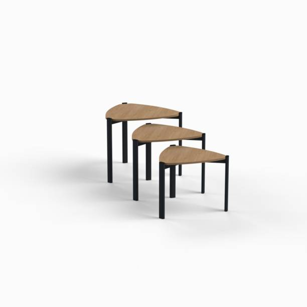 SBL Space Wood Interiors Marcella Solid Wood Nesting Table