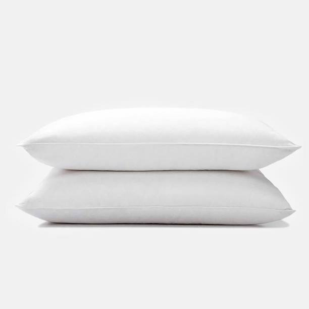 BC Comforts Microfibre Solid Sleeping Pillow Pack of 2