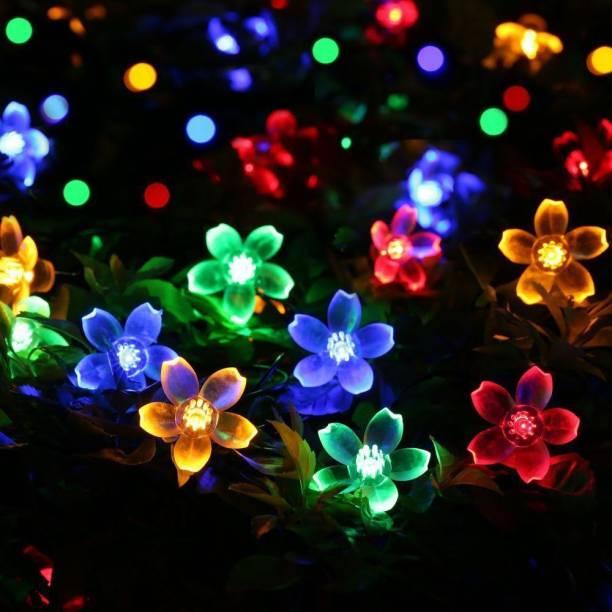 NISCO 118.11 inch Multicolor Rice Lights