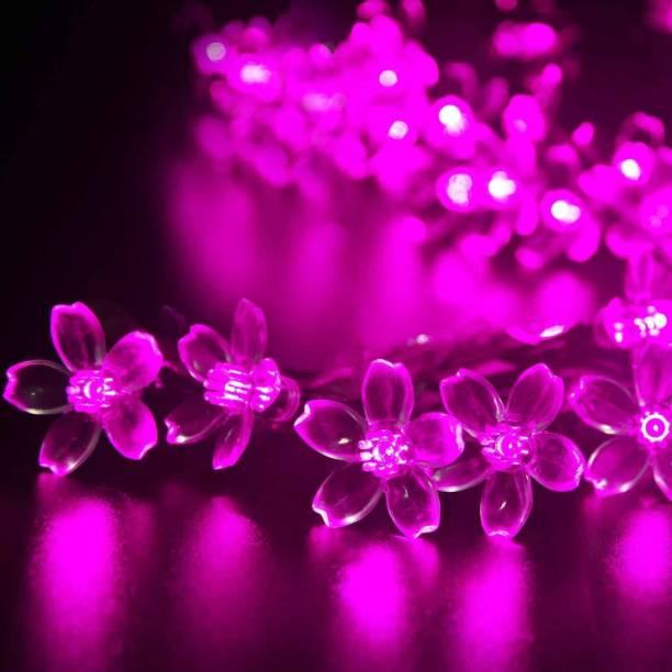 NISCO 118.11 inch Pink Rice Lights