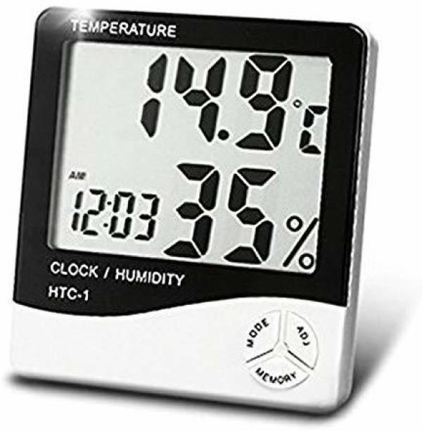 ANUVRUTI Digital White Clock