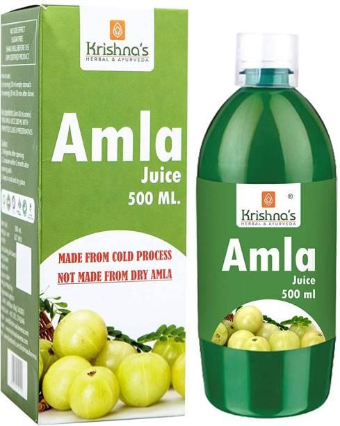 Krishna's Herbal & Ayurveda Amla Juice | Immunity Booster