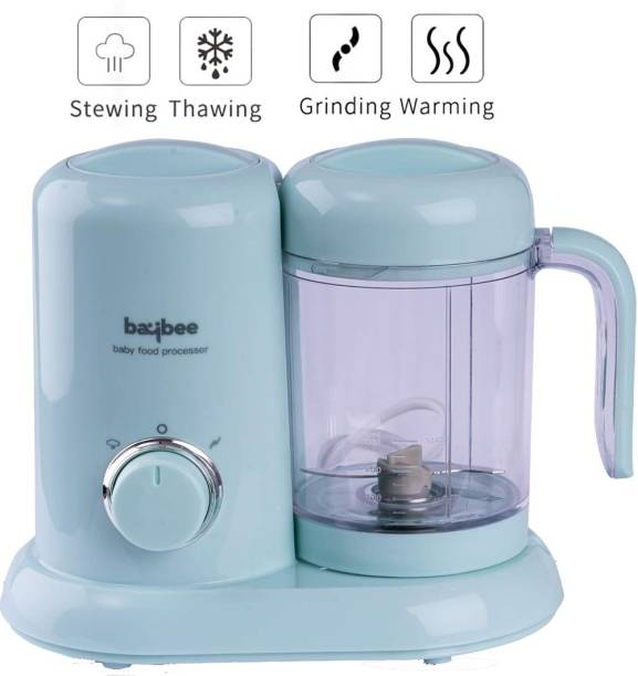 baybee Smart 4 in 1 Baby Food Processor with Steamer & Grinder, Multi-Purpose Baby Food Blender for Cooking ,baby food blender /baby food makers/ Healthy Organic Food, Ideal for Baby, BPA Free -GREEN