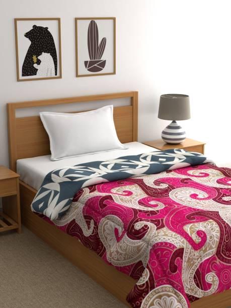 Raymond Home Printed Single Quilt