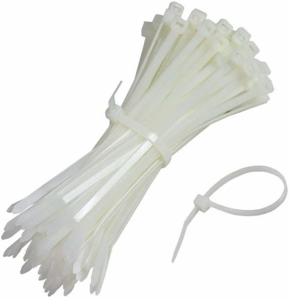 YUVAAN 4 Inch Nylon Cable Ties Zip Wire Organiser Ties Nylon Flexible Straps Cable Tie