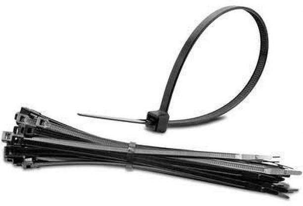 YUVAAN 4 inch Nylon Cable Ties Tie Wire Organiser Ties Nylon Flexible Straps Cable Tie