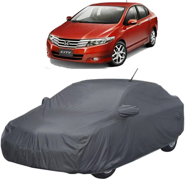 UK Blue Car Cover For Honda City (With Mirror Pockets)