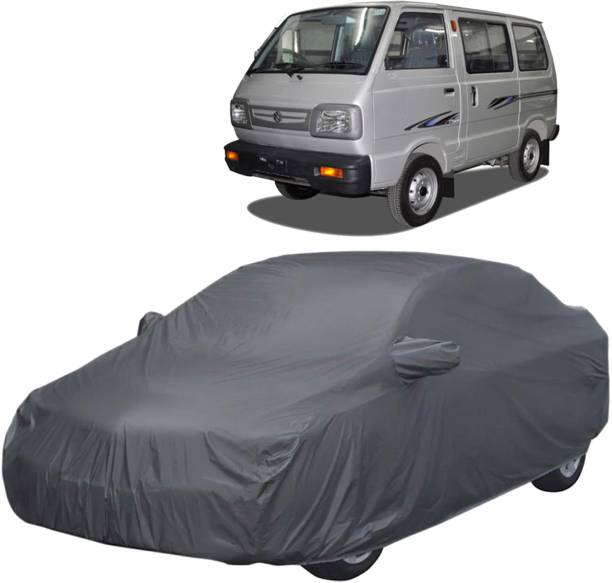 UK Blue Car Cover For Maruti Omni (With Mirror Pockets)