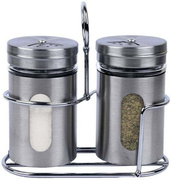 crystalia SALT AND PEPPER SHAKER 1 Piece Salt & Pepper Set