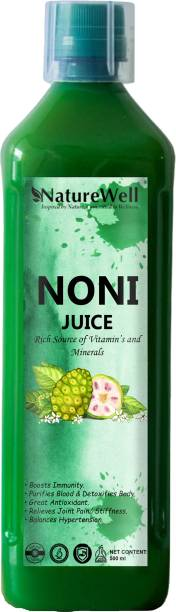 Naturewell Noni Juice Natural Juice for Building Immunity and Digestion Booster